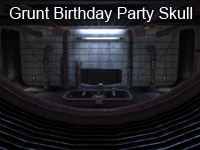 Grunt Birthday Party Skull